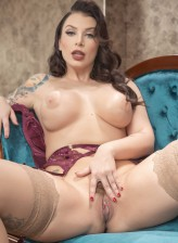 Ivy Lebelle in stockings