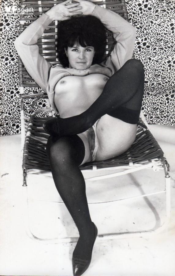 Vintage british stockings and suspenders something