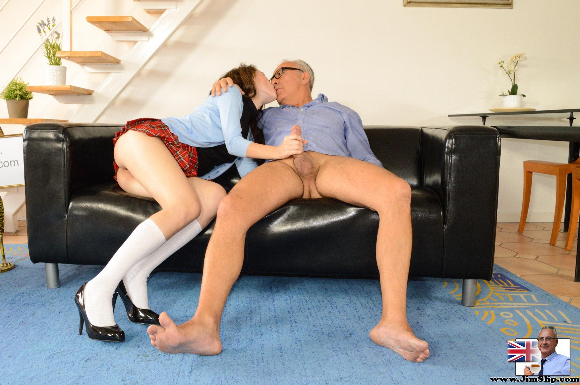 Jim Slip Stockings Porn Pics