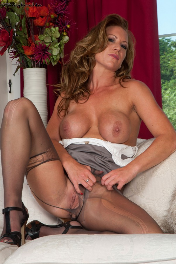 image Uk milf ashleigh lets us enjoy her leaking nipples