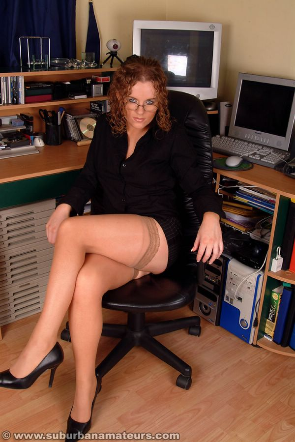 Opinion real amateur secretary in stockings all personal