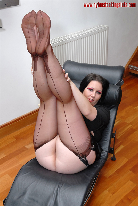 The valuable Rht nylon stockings sluts