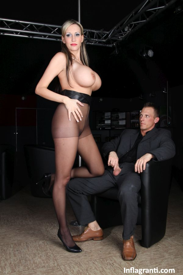 Boss in pantyhose gets what she wants - 3 part 5