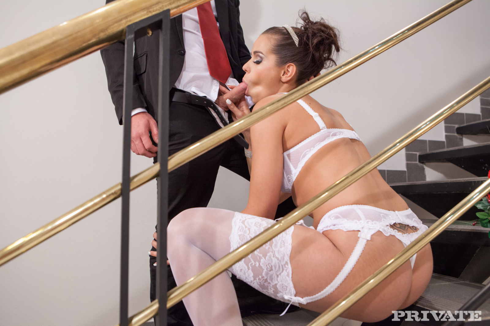 Are Naked bride in stockings piece