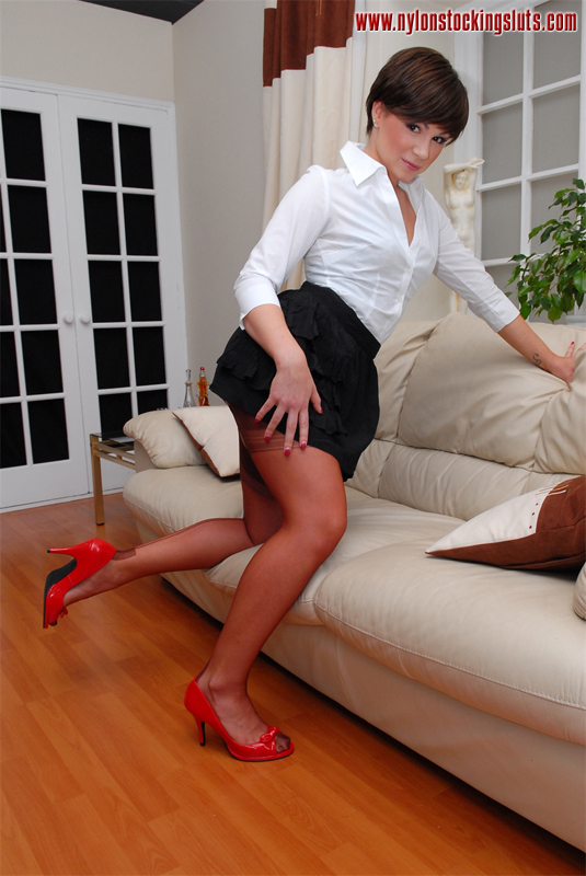 Opinion Rht nylon stockings sluts will