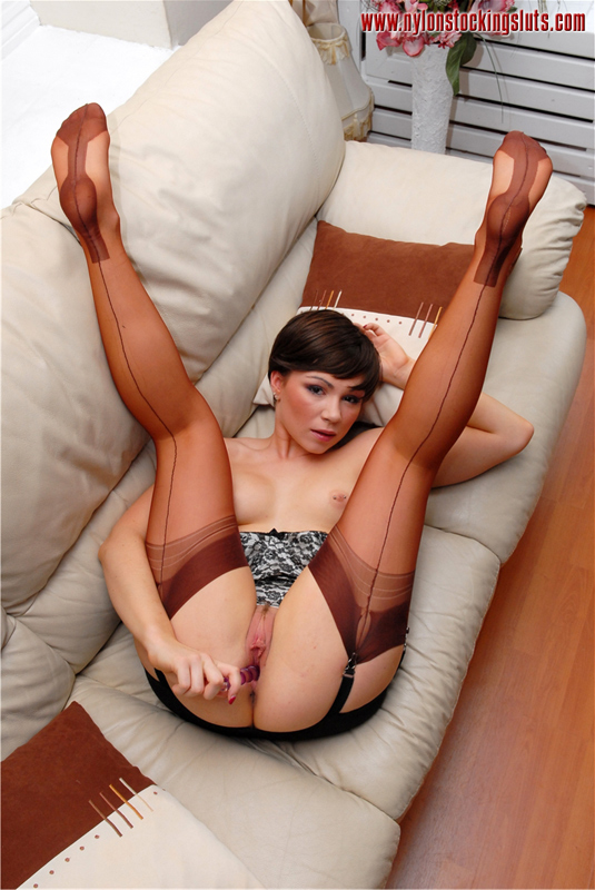 Rht nylon stockings sluts remarkable
