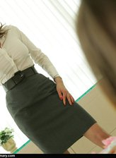 spanked pantyhose lesbo