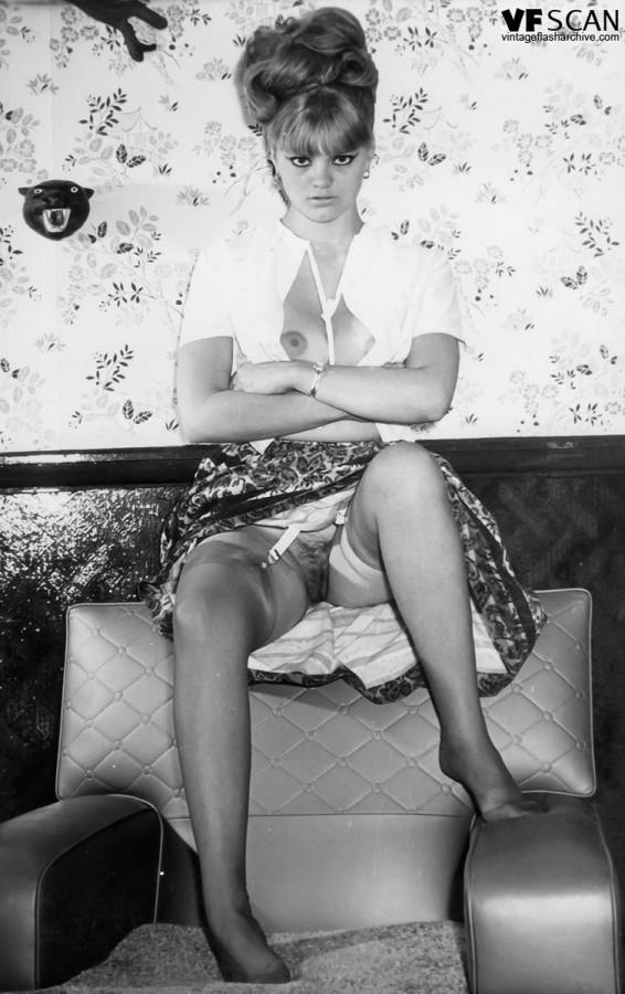 Nylon Vintage Lingerie Erotica