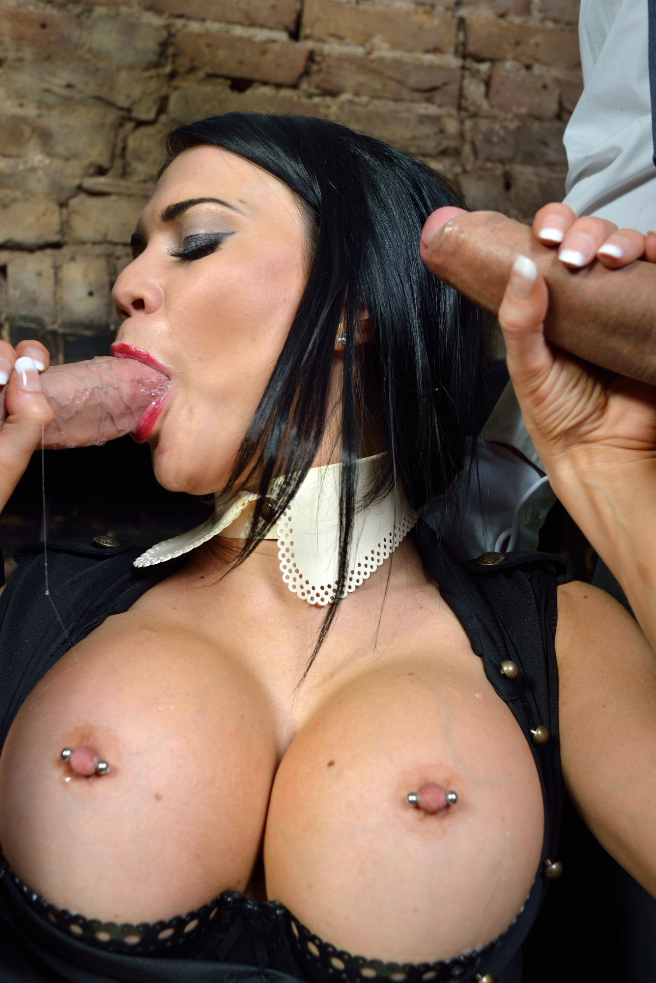 Harmony vision jasmine jae fucked by two monster cocks 10
