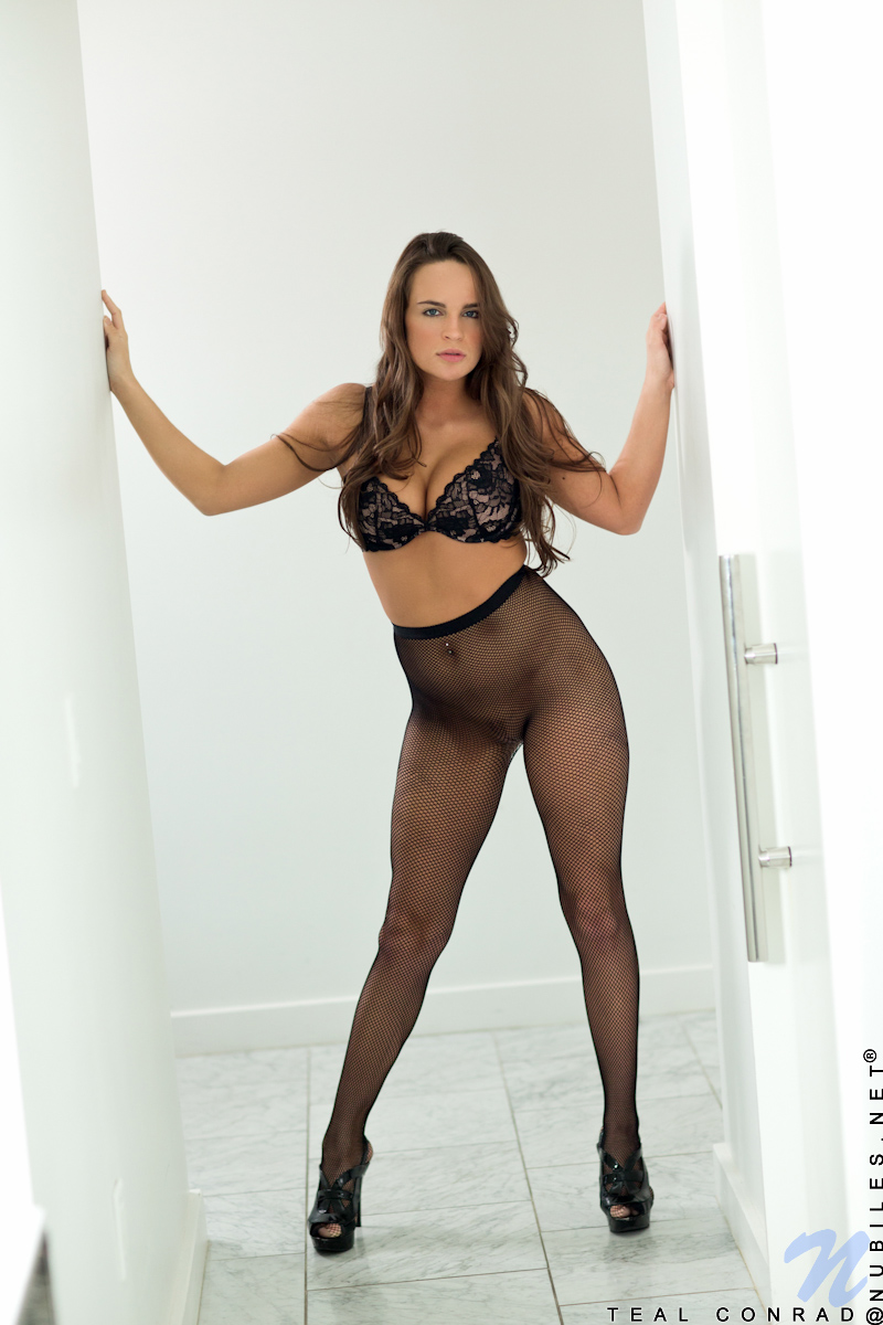 How to make seamless pantyhose hot!!!! love
