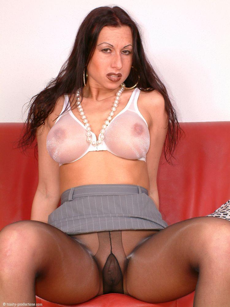 Boob s nylons see through bras