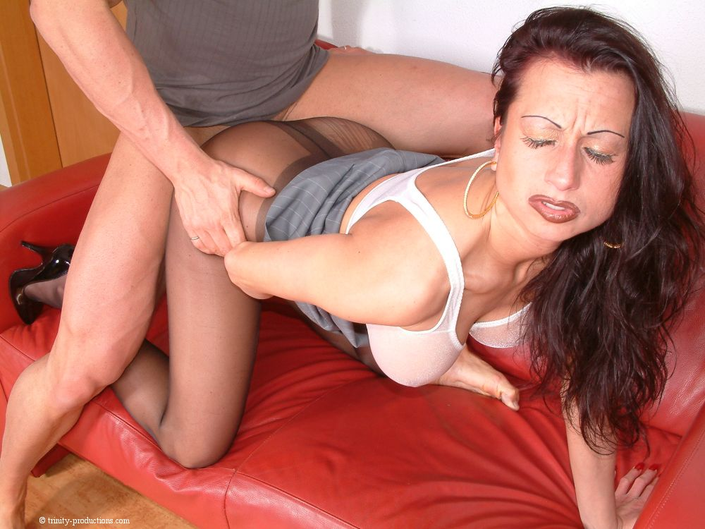 Closeup of woman having an orgasm