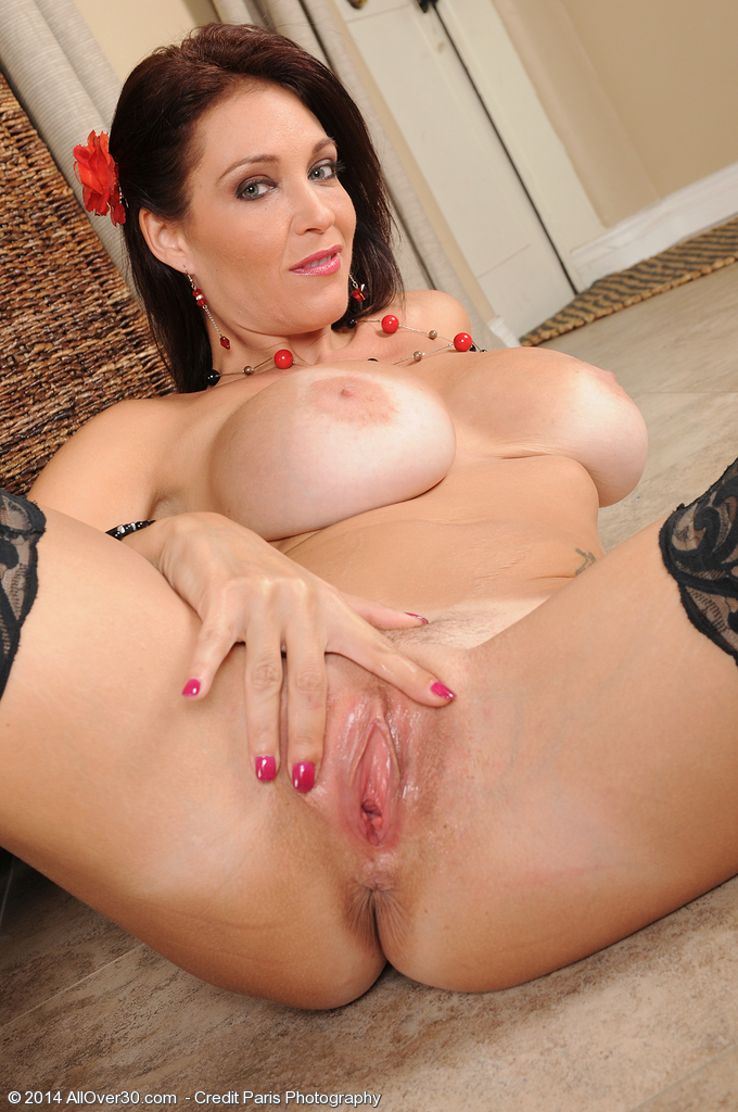Busty chubby milf charlie cumming on a black cock - 3 part 8