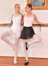 Russian ballerinas Arteya and Mia Ferrari