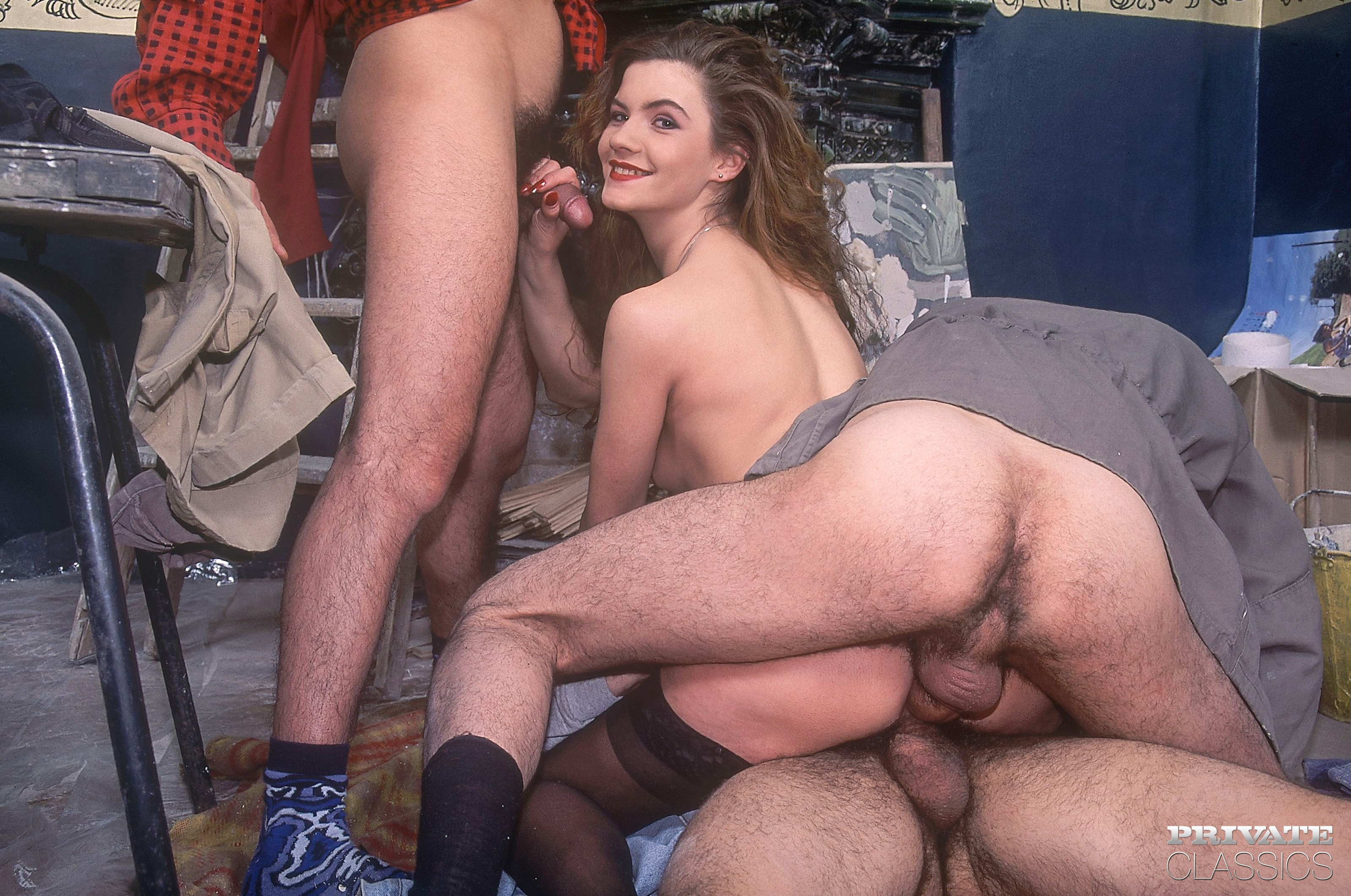 Ретро порно нарезка