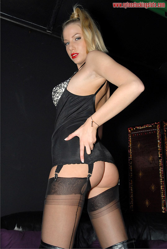 Nylon stocking mistress