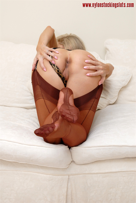 Rht nylon stockings sluts