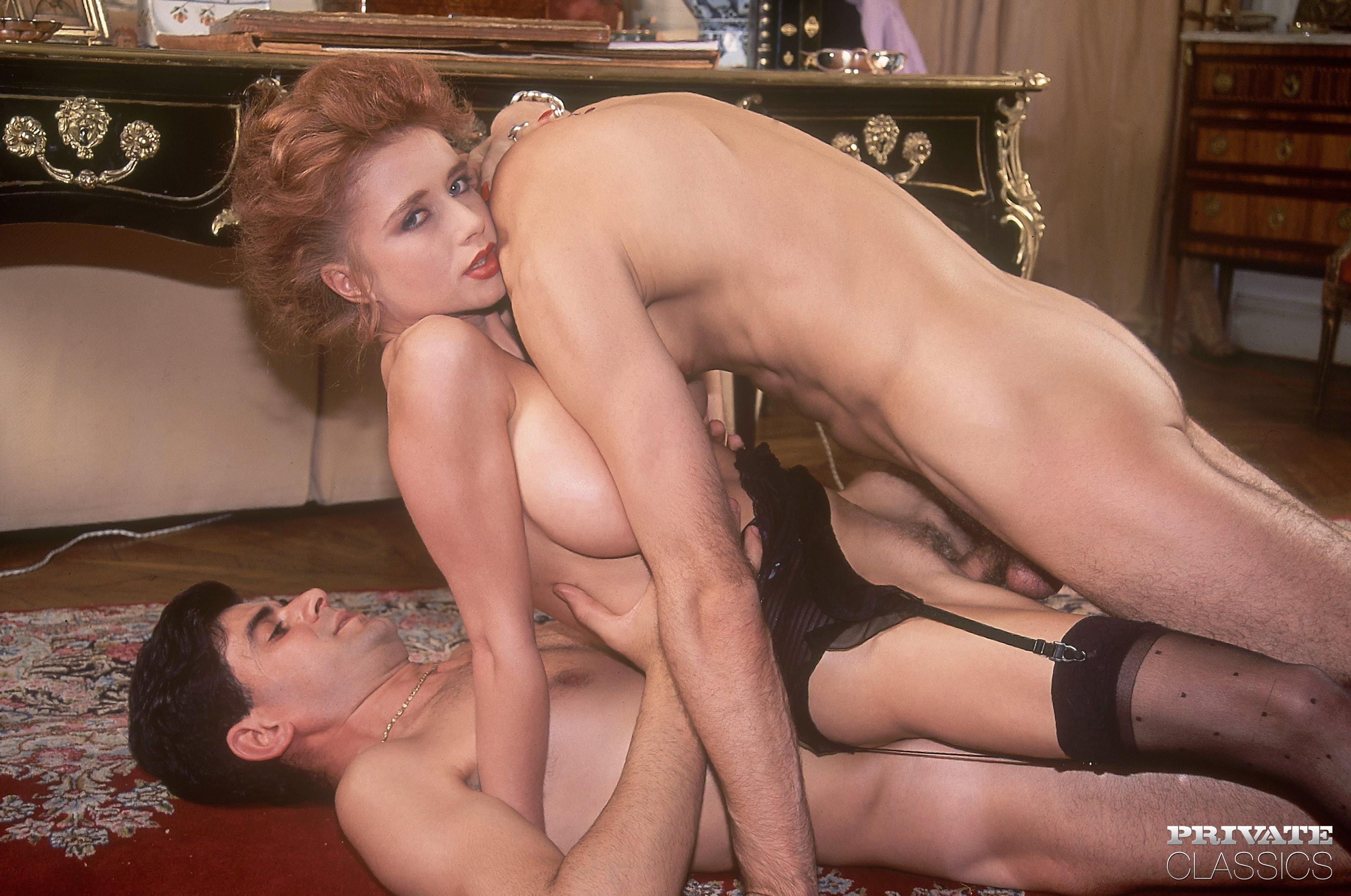 Retro Redhead Nude Wife