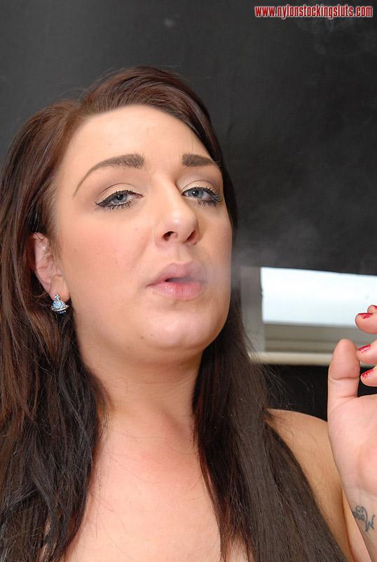 pantyhose smoker parts