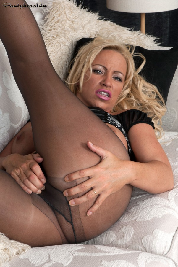 Love pantyhose ladder porn bout great