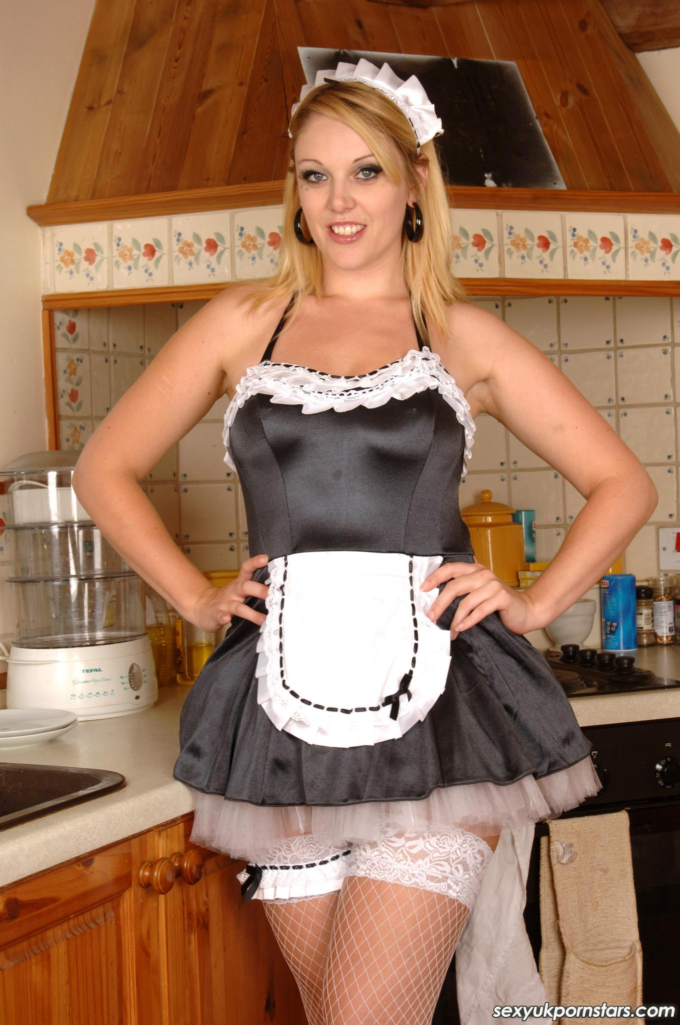 French maid pornstars
