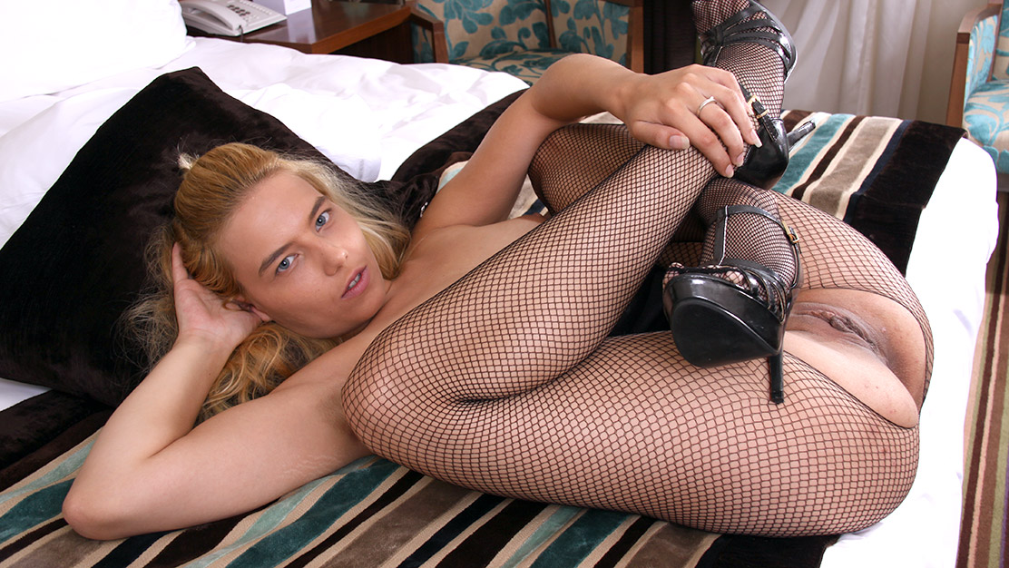 Naked girls in fishnet tights having sex will know