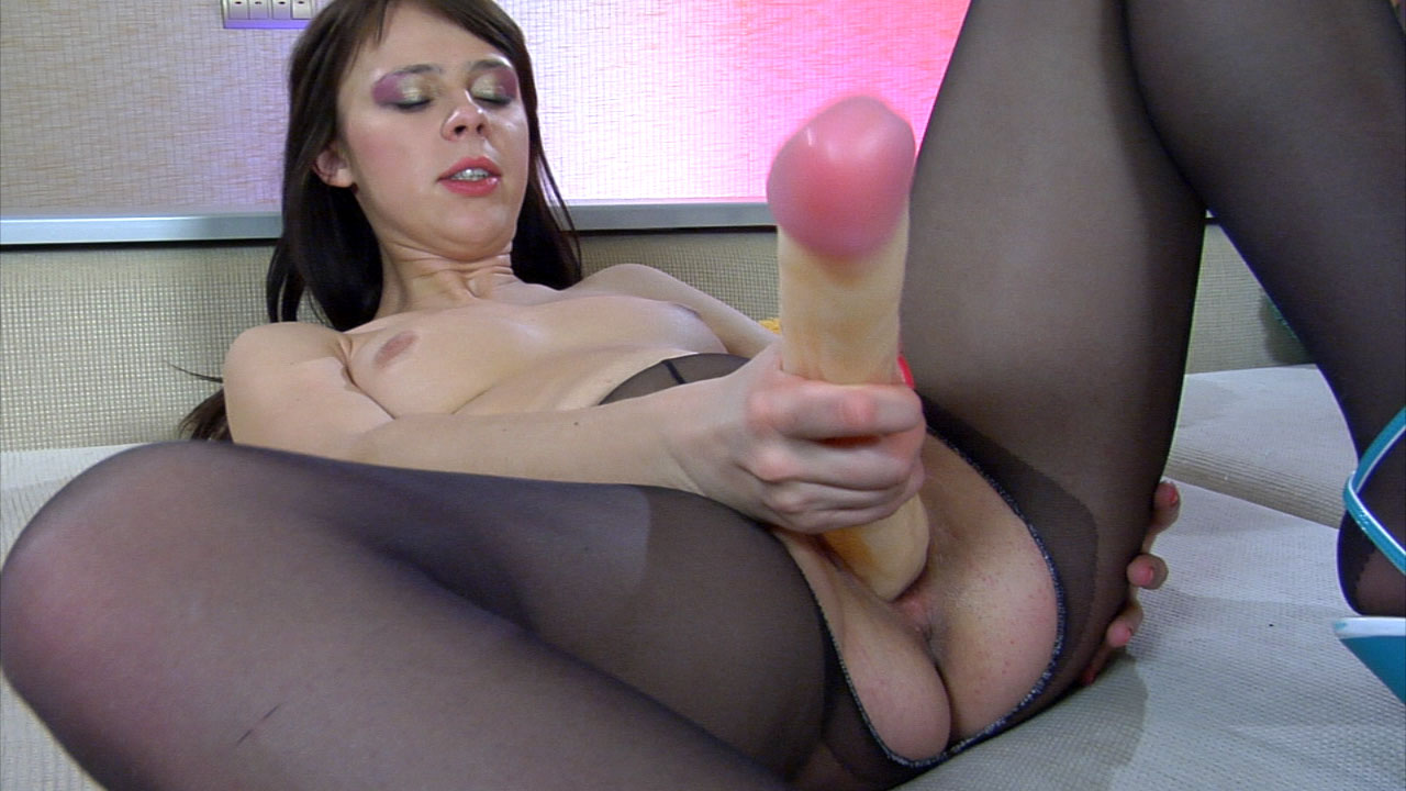 crotchless pictures pantyhose Black video