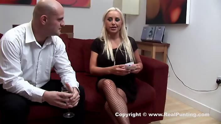 British escort girl Savannah Gold aka Natalie Heck in black fishnets going for a steamy ass ride