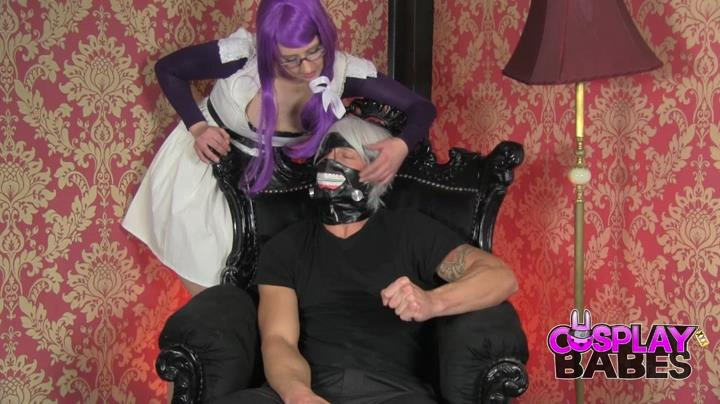 Honesty Calliaro launches into a fucking hot cosplay spreading her legs wide for some meaty filling