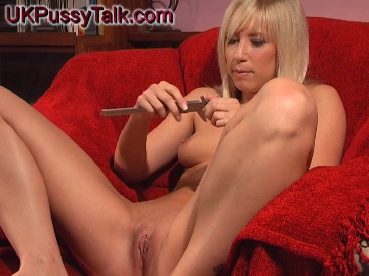 British blonde Karlie Simon gives interview for UK Pussy Talk
