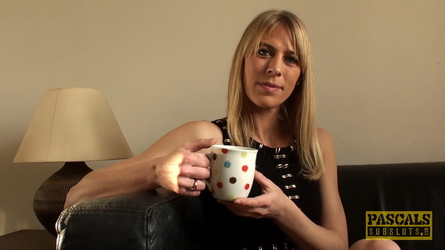 Hot mom Jentina Small gets painfully spanked, deepthroated and banged opening her high heeled legs