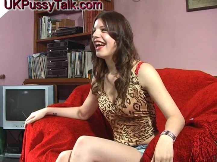 British brunette teen Isabella Kay gives interview for UK Pussy Talk