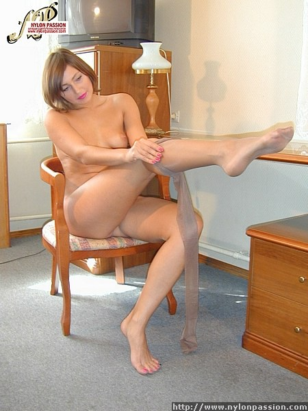 Passion for pantyhose