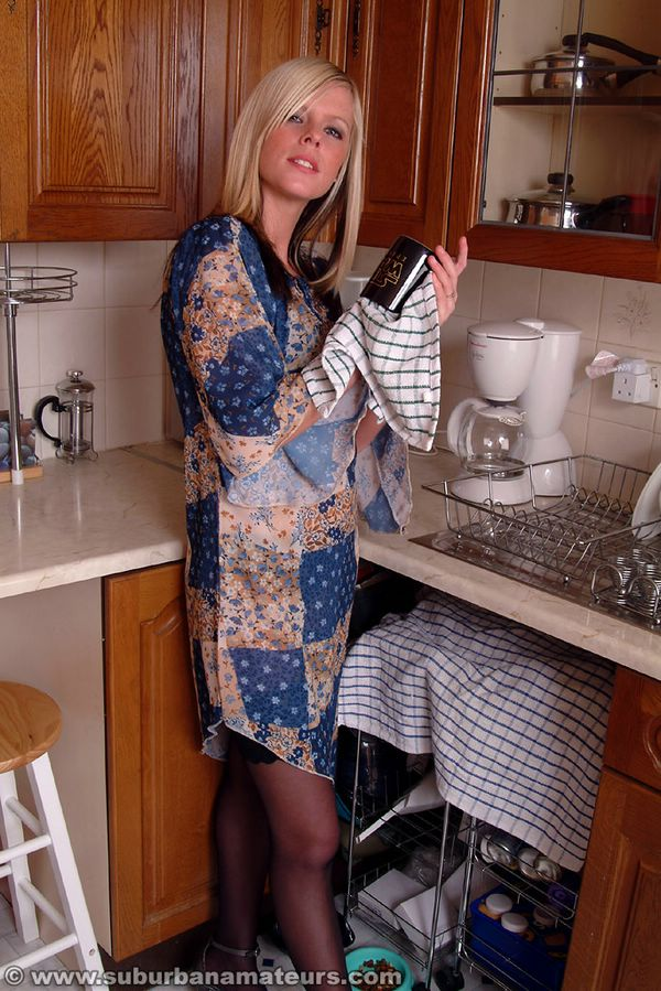 Amateur british housewife